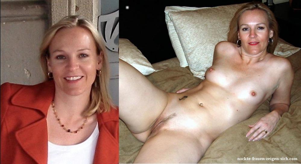 Und angezoge nackt frauen Nackt oder