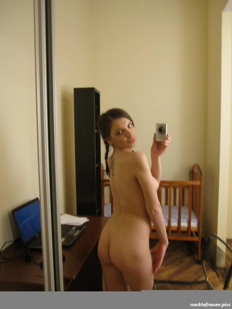 Selfie arsch nackt